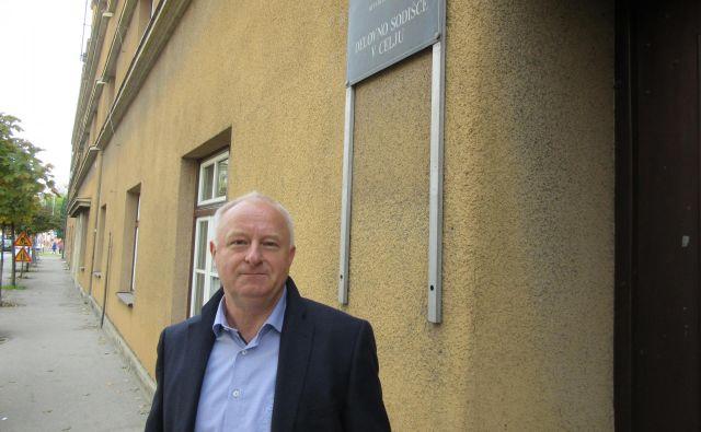 Marjan Ferjanc bo sodbo delovnega sodišča dobil po pošti. FOTO: Špela Kuralt/Delo