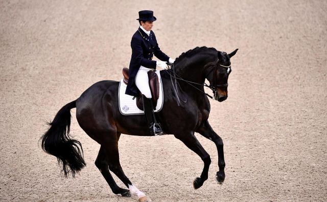 V Gothenburgu poteka svetovno prvenstvo v dresuri konj. Foto Tt News Agency Reuters