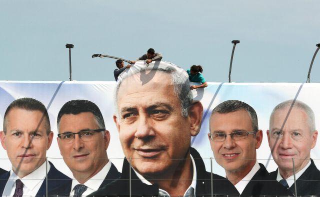 Benjamin Netanjahu meri na peti mandat na čelu izraelske vlade. FOTO: Reuters