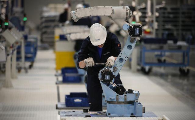 Otvoritev evropske tovarne robotov Yaskawa v Kočevju. Foto Uroš Hočevar