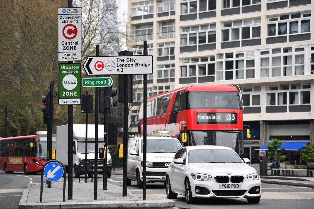 London z novo dajatvijo za avte z veliko izpusti