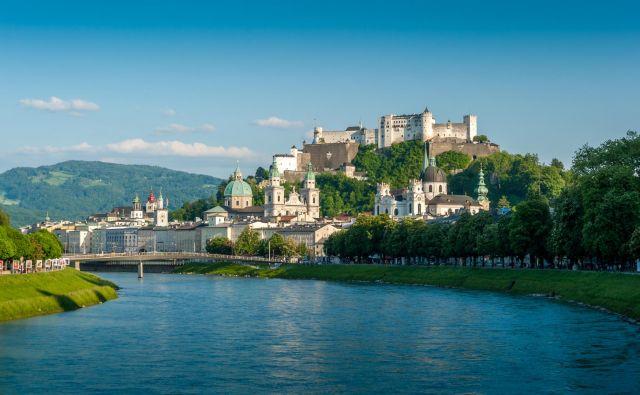 Salzburg in njegova skorajda kičasta podoba. FOTO: Günter Breitegger