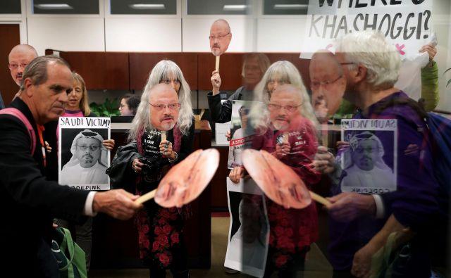 Hašodži je pisal kolumne za Washington Post. Prejšnji teden so pripravili zgodbo, kako je savdski dvor sklenil tihi dogovor z vsemi štirimi njegovimi otroki, da so »zadržani v izjavah za javnost«. FOTO: AFP