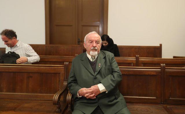 Franc Grošelj je krivdo zanikal. FOTO: Dejan Javornik