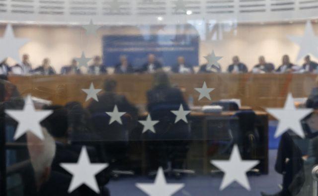 Evropski sodniki državo največkrat okrcajo zaradi nespoštovanja pravice do učinkovitega pravnega sredstva in sojenja v razumnem roku. FOTO: Reuters