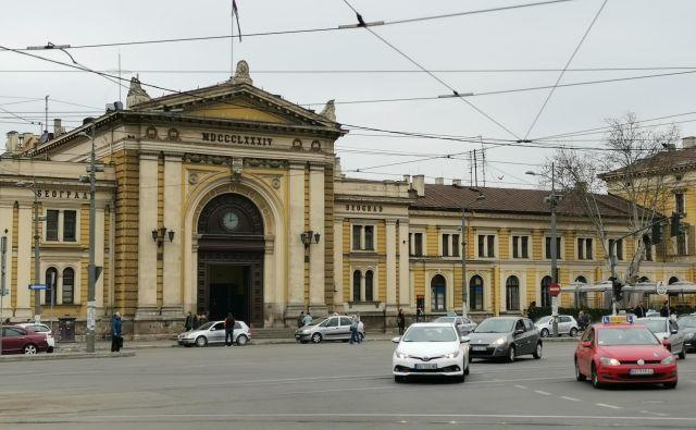 Stara dama iz leta 1884, nekoč glavna jugoslovanska železniška postaja, bo postala muzej. Foto Milena Zupanič/Delo