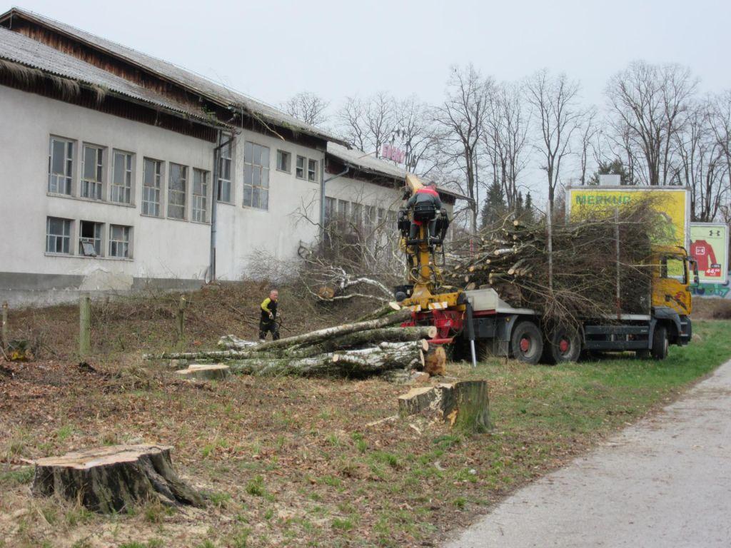 FOTO:Občina kupuje zemljišča, vila bloki rešeni