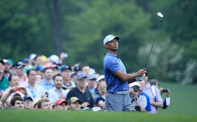 Tiger Woods je ta čas 12. golfist sveta. FOTO: AFP