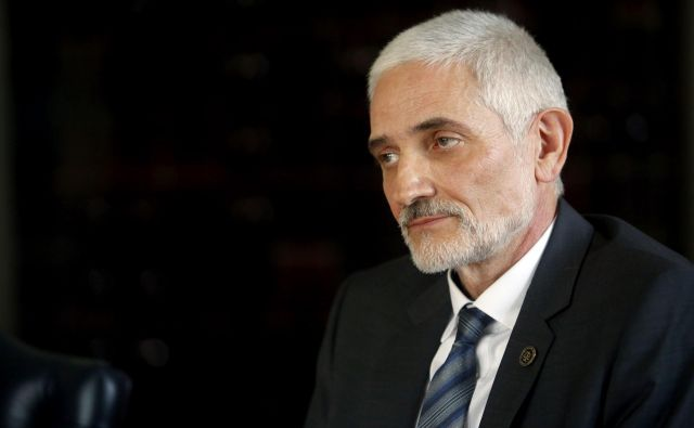 Damijan Florjančič,predsednik vrhovnega sodišča Republike Slovenije,Ljubljana Slovenija 08.04.2019 [Portret] Foto Roman Šipić