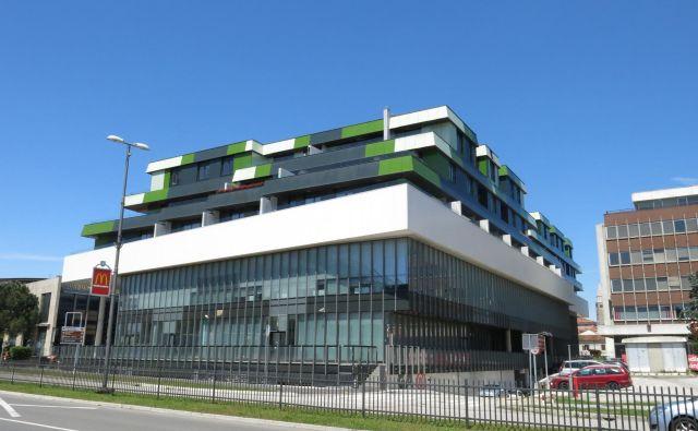 Kompleks Zeleni park 2 bo po napovedih Grafista naprodaj v prihodnjih dneh. Foto Nataša Čepar