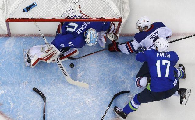 Žiga Pavlin je že vrsto let med branilci slovenske hokejske reprezentance.<br /> FOTO Reuters