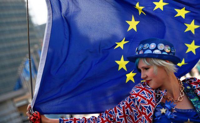 Podaljšanje roka za brexit spet sproža ugibanja o drugem referendumu ali preklicu izstopa. Foto Reuters