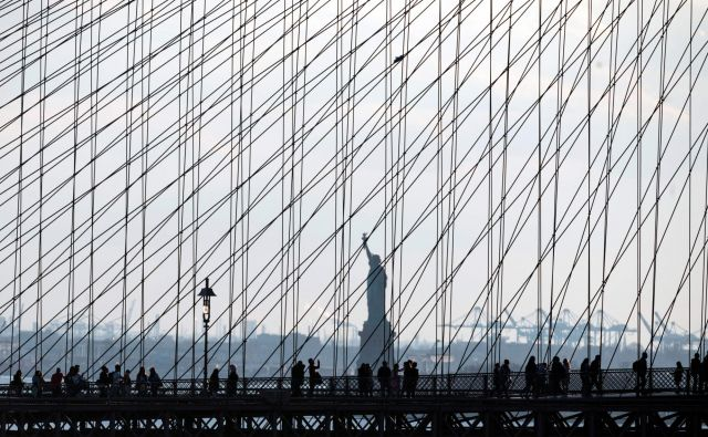 Karen Greenberg: »Kip svobode bi moral že zdavnaj v pokoj.« FOTO: AFP