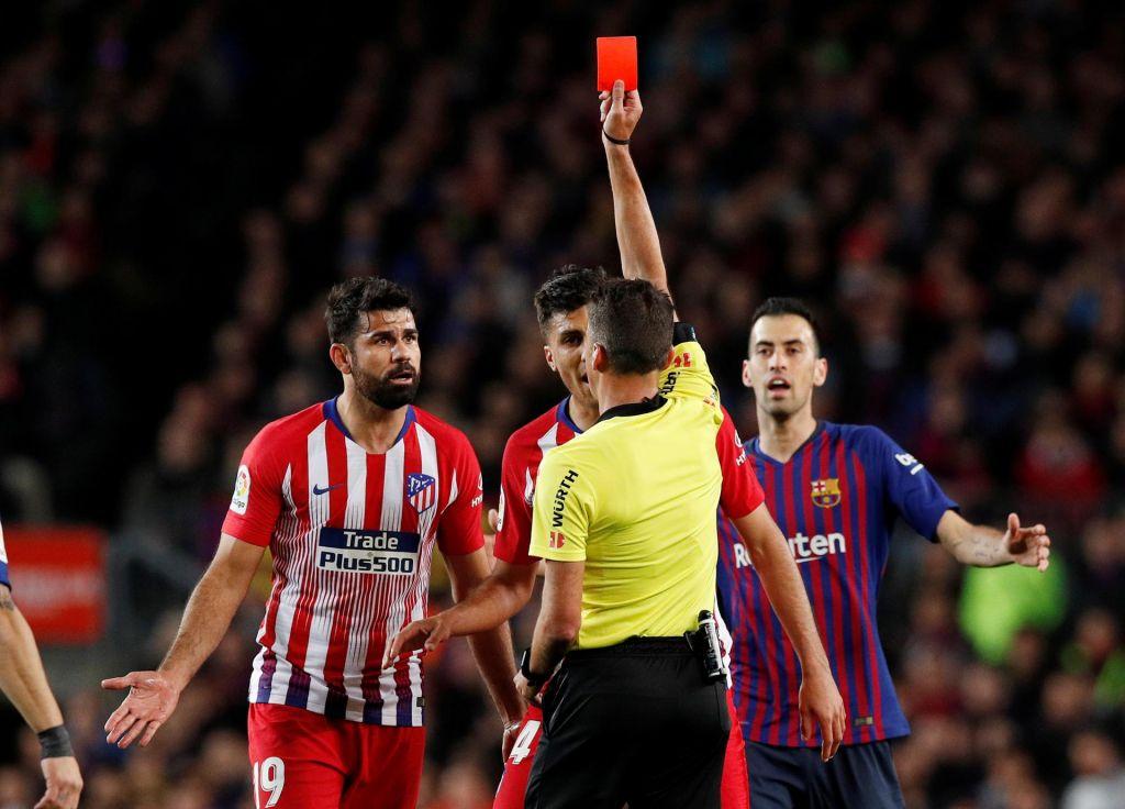 Costa po kazni že zaključil sezono