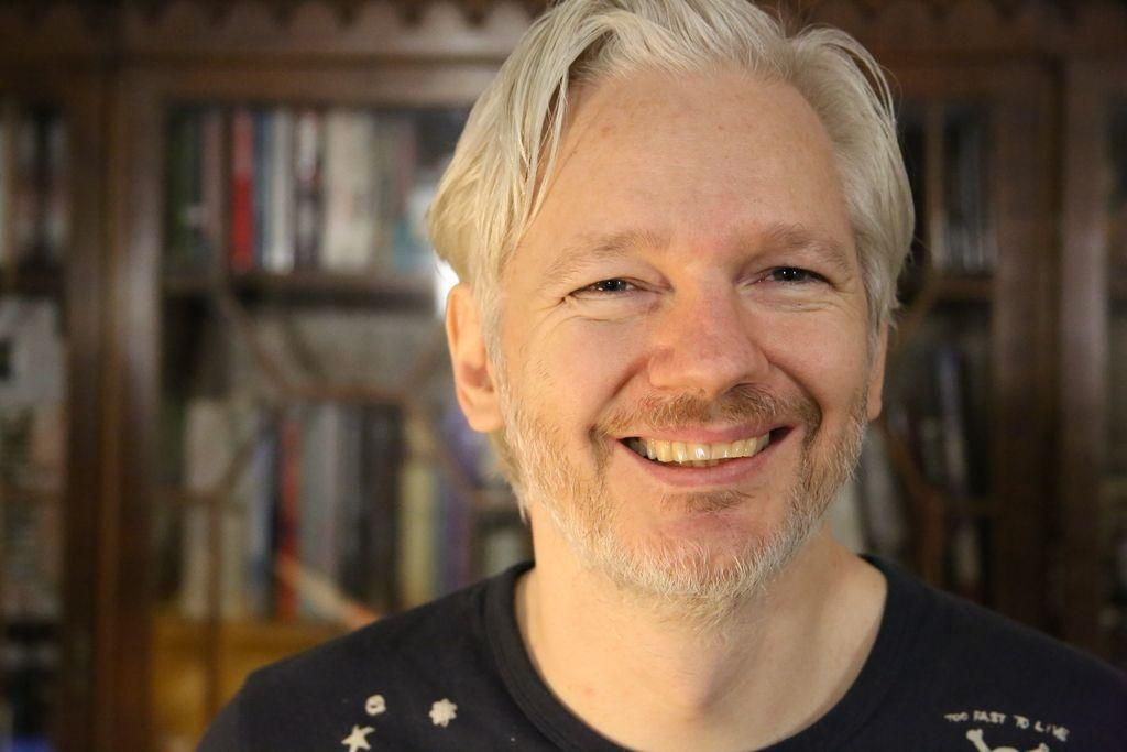 FOTO:Julian Assange: »Wikileaks smo vohuni za ljudi.« (iz arhiva)