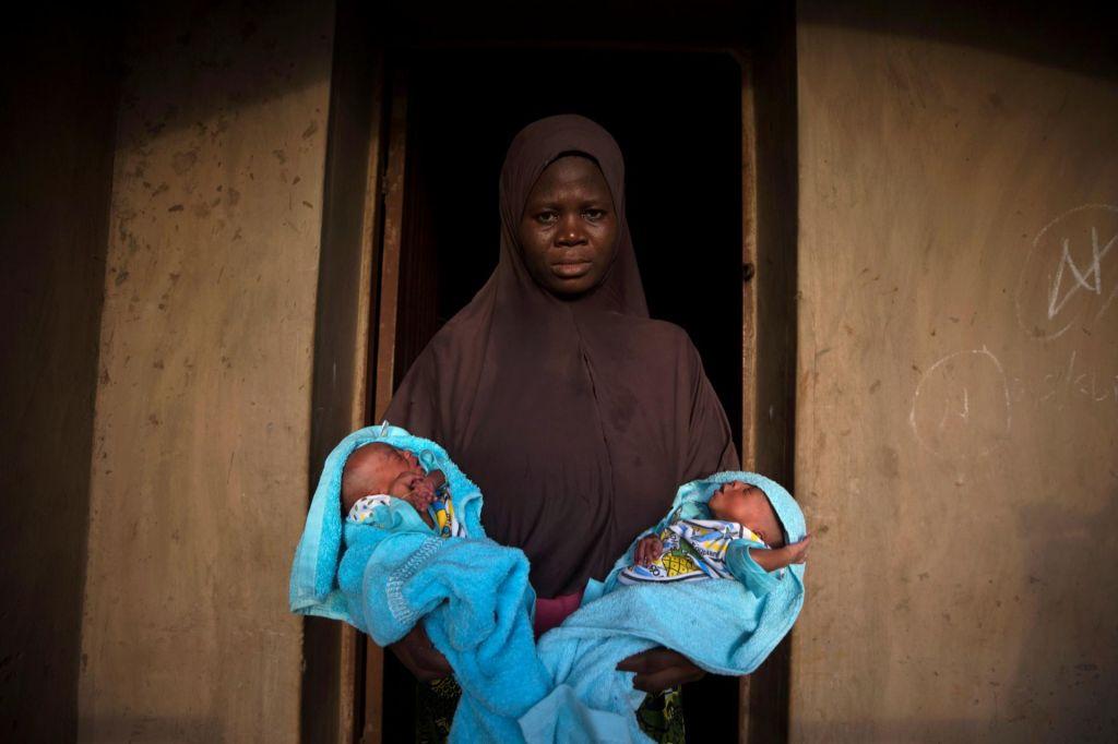 FOTO:Nigerijsko mesto dvojčkov