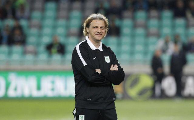 Safet Hadžić je priljubljen tudi med ljubljanskimi navijači. FOTO: Roman Šipić/Delo