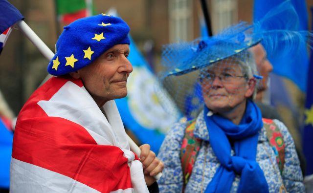 Večina Severnih Ircev ni naklonjena izstopu Združenega kraljestva iz EU. To je bilo jasno že ob objavi regionalnih rezultatov referenduma 2016, ko je več kot polovica Severnih Ircev glasovala proti izstopu. Foto: Reuters