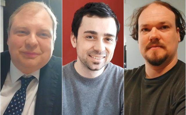 Vsi trije sogovorniki so dejali, da bodo šli na evropske volitve.