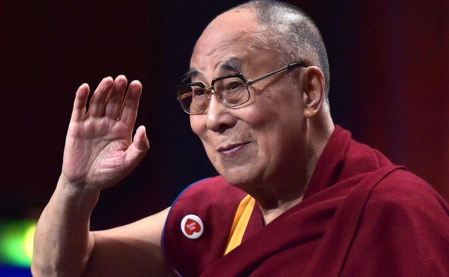 Dalajlama je tibetanski duhovni voditelj. FOTO: AFP