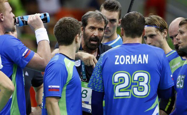 Veselin Vujović bo imel v strokovnem štabu odslej tudi Uroša Zormana. FOTO: Matej Družnik