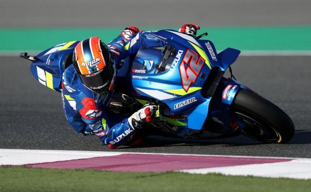 Alex Rins je dosegel prvo zmago v razredu motogp. FOTO: Reuters