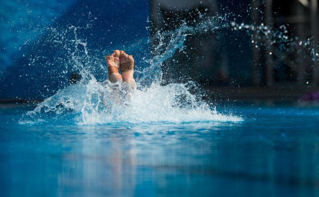 To je moj »potop na dah«, sem zapisala v naslov za časopis. FOTO AFP