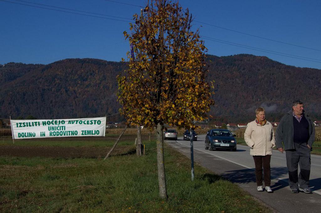 Politizacija polovičke severne ceste