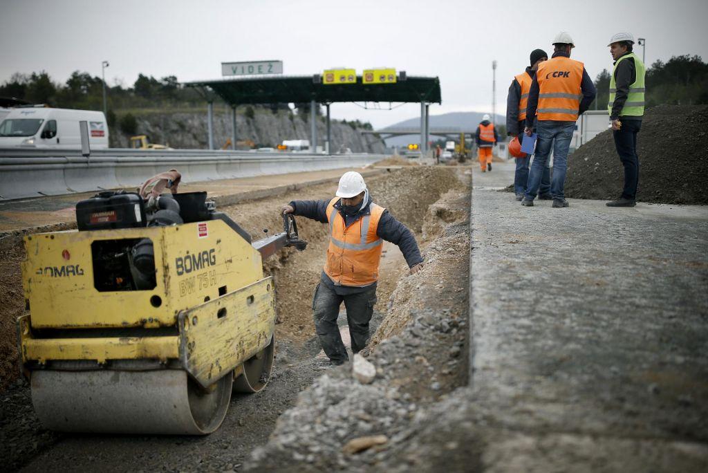 FOTO:Pot do morja bo mimo gradbišč spet daljša