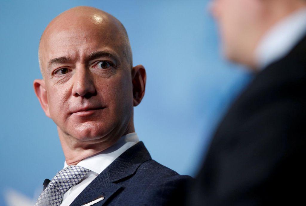 Koliko je lani v Amazonu zaslužil Jeff Bezos?