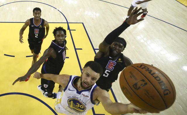 Stephen Curry je končnico začel z 38 točkami. FOTO: USA Today
