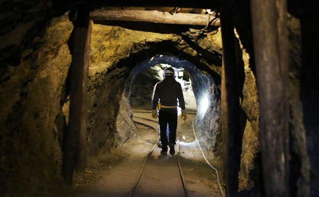 Idrijsko podzemlje je več kot 500 let dajalo kruh večini idrijskih družin.FOTO: Leon Vidic