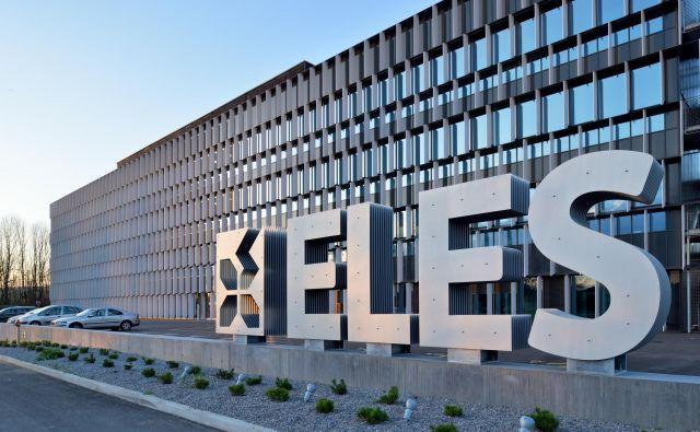 Tehnološko središče Eles v Beričevem pri Ljubljani je prejelo Plečnikovo nagrado. FOTO: Miran Kambič