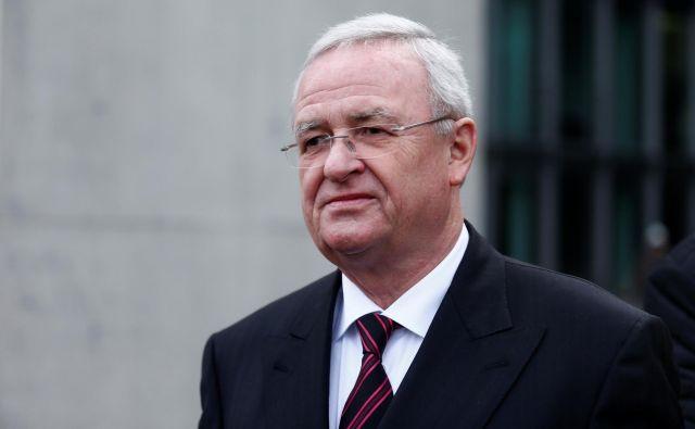 Nekdanjega Volkswagnovega predsednika uprave Martina Winterkorna med drugim obtožujejoposebej težke prevare.FOTO: Hannibal Hanschke/Reuters