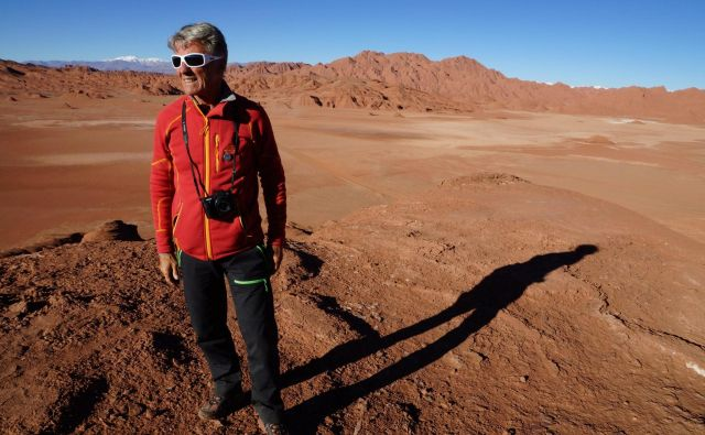 Peter Habeler je še vedno aktiven plezalec in popotnik. FOTO: Osebni arhiv