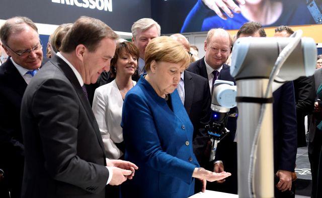Številni nemški podjetniki zdaj zahtevajo pometanje pred lastnim pragom. Foto: Fabian Bimmer/Reuters