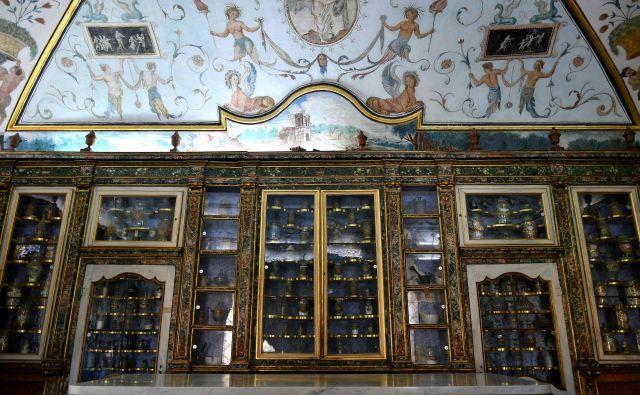 Notranjost kartuzije Trisulti, kjer bo deloval inštitut Dignitatis Humanae FOTO AFP<br />