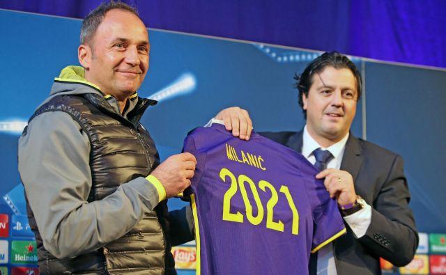 Darka Milaniča v Mariboru zadržuje tudi denarno varna pogodba do leta 2021, ki mu jo je zagotovil športni direktor Zlatko Zahović. FOTO: Tadej Regent/Delo