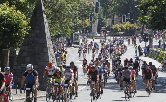 Maraton Franja je največji kolesarski maraton pri nas in del elitne svetovne mreže tovrstnih preizkušenj. Foto Leon Vidic