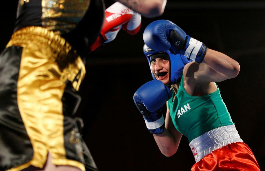Prva iranska boksarka in prva zmaga