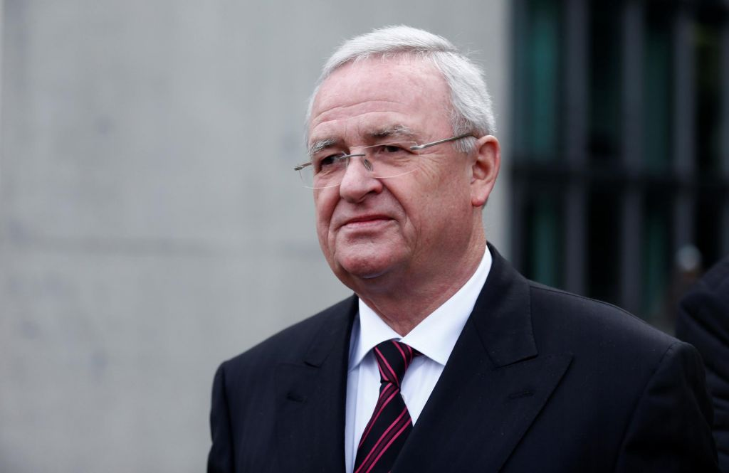 Obtožnica proti nekdanjemu Volkswagnovemu predsedniku uprave Winterkornu