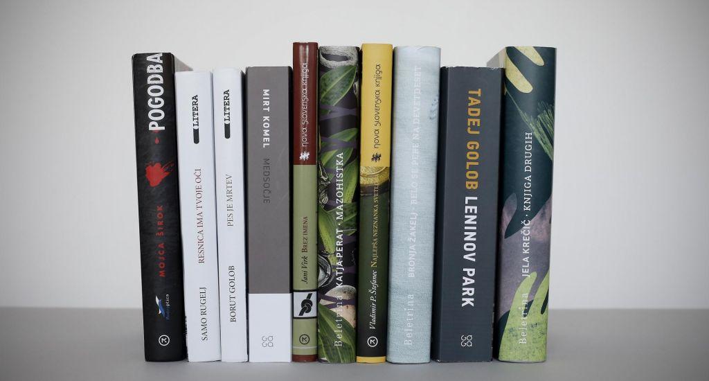 Deset finalistov v boju za roman leta