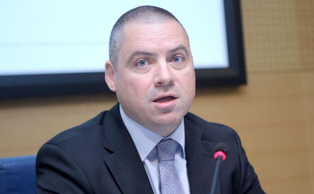 Rudolf Skobe odhaja iz Telekoma Slovenije. FOTO: Roman Š�ipić/Delo