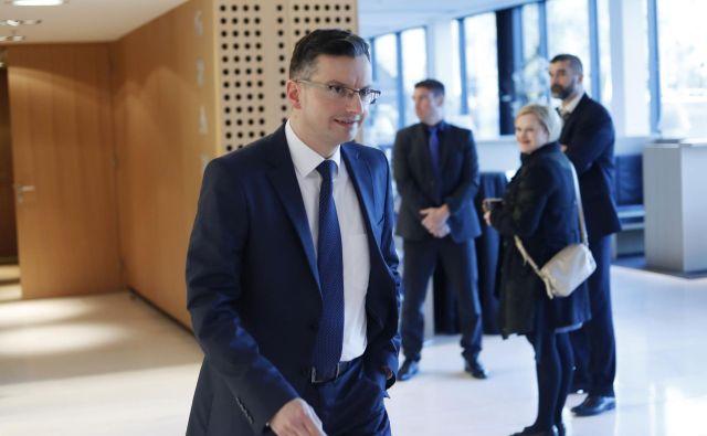 Premier Marjan Šarec se je odločil za kritiko evropske komisije in njenega predsednika Jean-Clauda Junckerja glede njune vloge po odločitvi arbitražnega sodišča o slovensko-hrvaški meji. FOTO: Leon Vidic/Delo