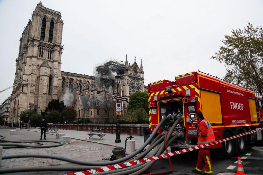 FOTO:Požar je pogašen, preiskovalci ga obravnavajo kot nesrečo, ne požig
