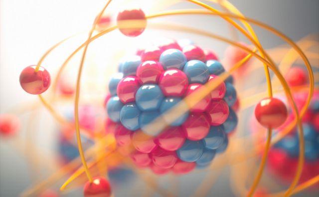 Nevtroni skupaj s protoni sestavljajo atomsko jedro. FOTO: Shutterstock