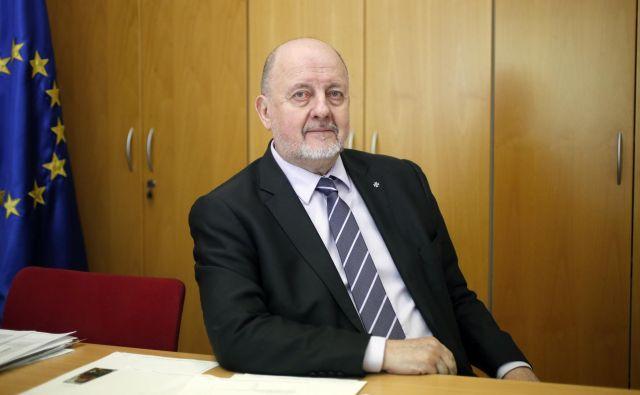 Zmago Jelinčič Plemeniti je prepričan, da bo v prihodnje eden od kandidatov liste SNS sedel v evropskem parlamentu. Foto Roman Šipić