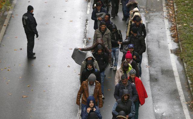 Lani je v Nemčiji zaprosilo za azil več kot 160.000 ljudi. Foto: Reuters