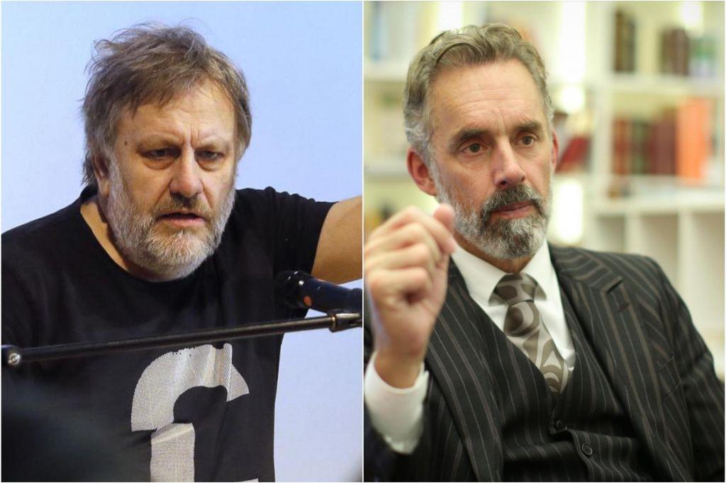 FOTO:Žižek: Oba s Petersonom sva izobčenca in zabavljača