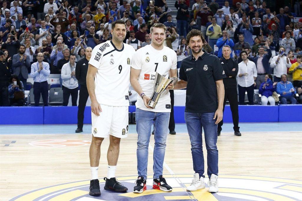 Madrid je pozdravil Luko Dončića